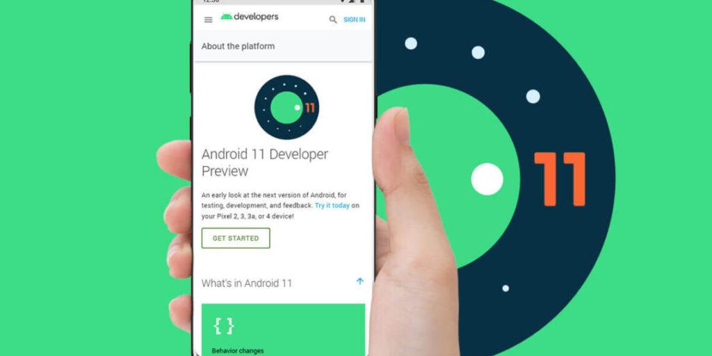 อัพเดต Android version 11