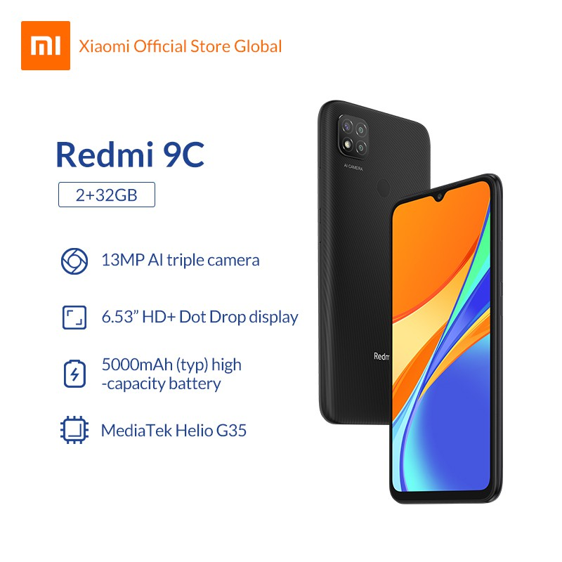 Redmi 9C สมาร์ทโฟนตัวใหม่จาก Xiaomi