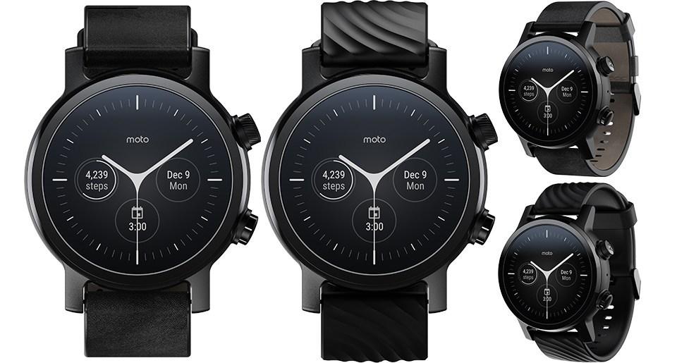 Moto 360 นาฬิกาอัจฉริยะ เมนูบอกพยากรณ์