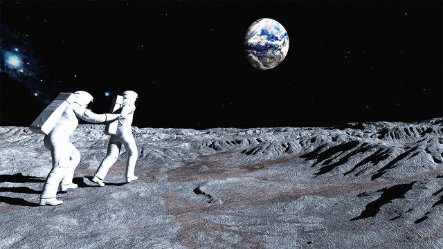 NASA และ Nokia -ติดตั้งเครือข่าย 4G บนดวงจันทร์