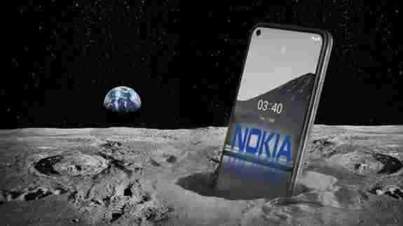 NASA และ Nokia
