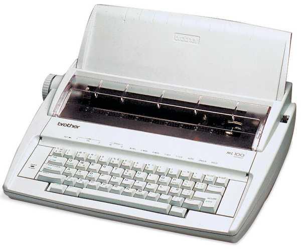เครื่องพิมพ์ดีด