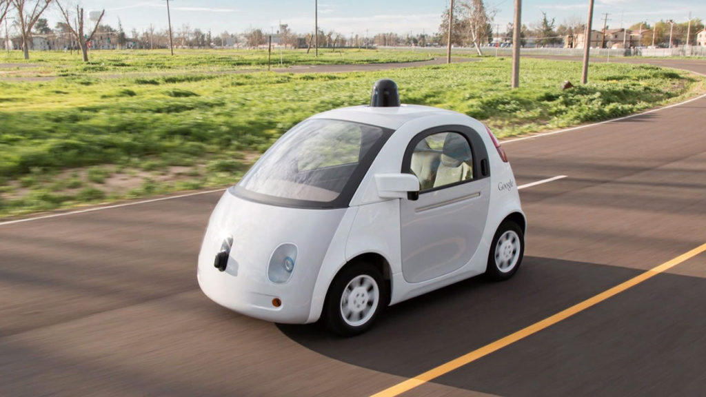 เทคโนโลยี ปี 2020 รถไร้คนขับ