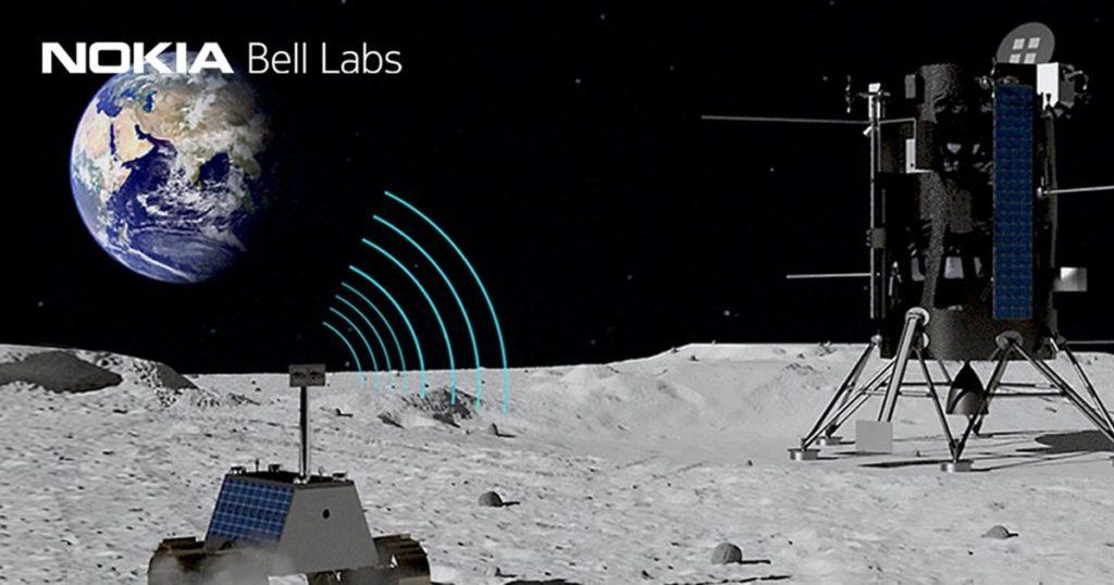 NASA และ Nokia วางเครือข่าย 4G บนดวงจัน