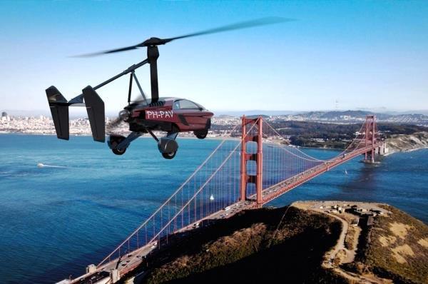 เทคโนโลยีทางด้านการบิน -PAL-V Liberty