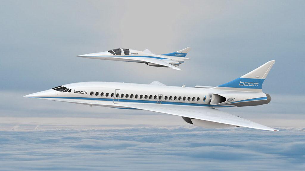 เทคโนโลยีทางด้านการบิน - boom XB-1