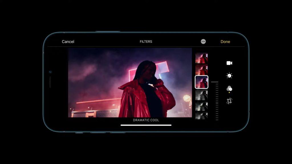 iPhone 12 -การถ่ายวิดีโอ