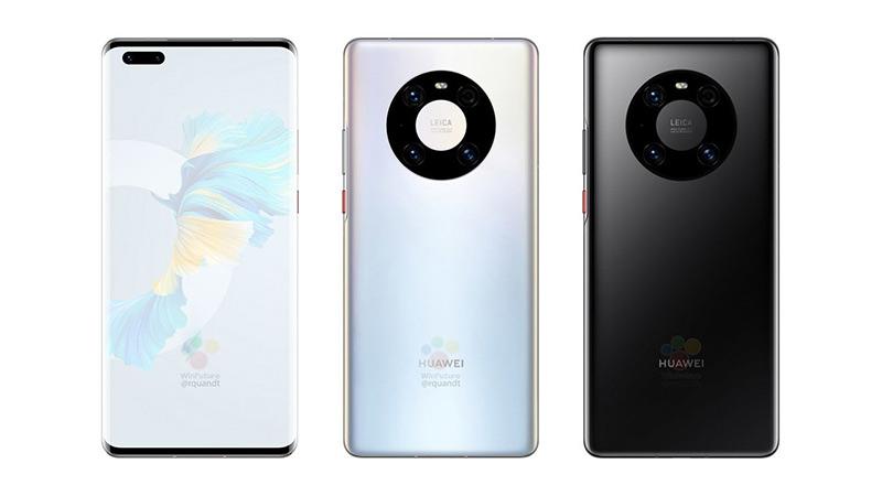 Huaweiเปิดตัว Mate 40 Pro-รุ่นเรือธง
