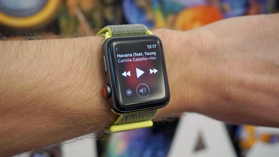 การฟังเพลงผ่าน Apple Watch