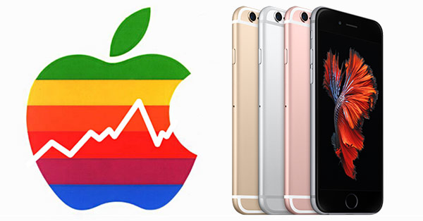 บริษัท Apple-ยอดขาย iPhone ลดลง 20%