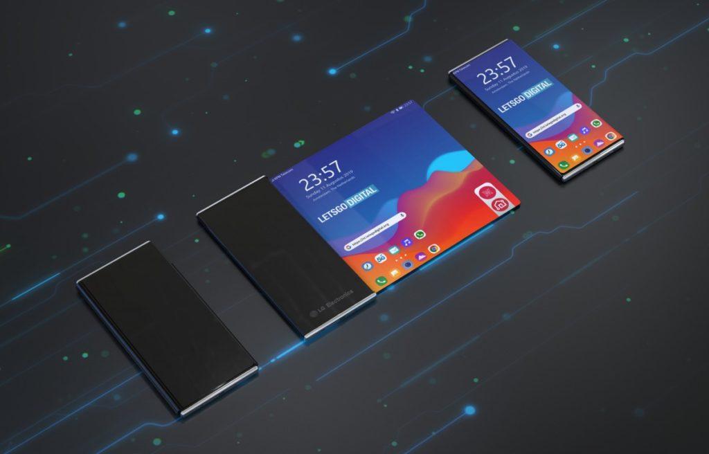 โทรศัพท์ม้วนได้-จาก Samsung