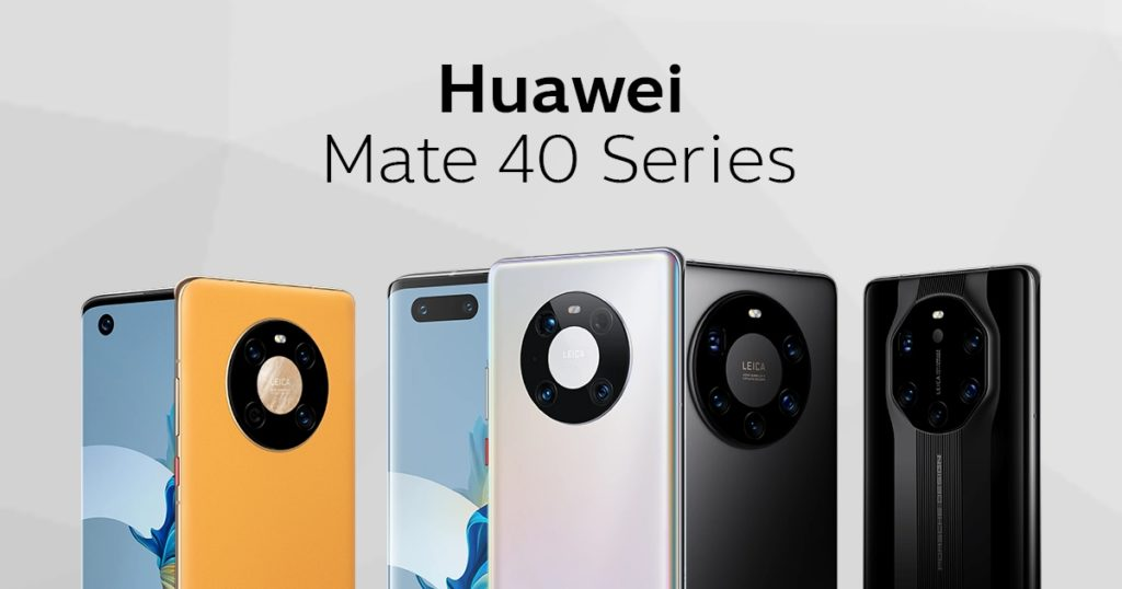 Huaweiเปิดตัว Mate 40 Pro