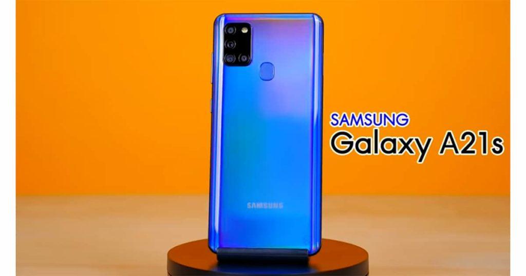 Galaxy A21s สมาร์ทโฟนมีความเรียบง่าย