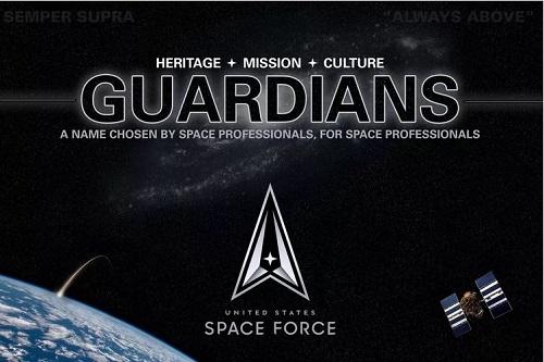 สหรัฐอเมริกาประกาศชื่อของหน่วย US Space Force