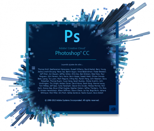 โปรแกรม อะโดบี โฟโตชอป Adobe Photoshop