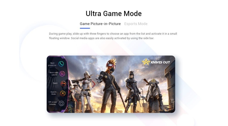 Ultra Game Mode บนสมาร์ทโฟน