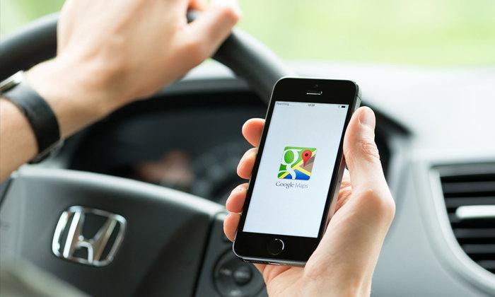 Google Maps แอปพลิเคชันการอำนวยความสะดวก