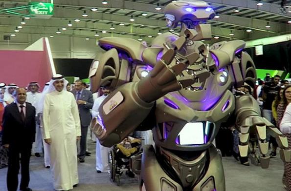 เจ้าเมืองดูไบใช้ หุ่นยนต์บอดี้การด์ แทนมนุษย์