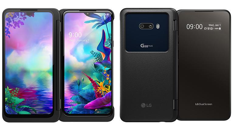 โทรศัพท์ LG G8X -หน้าตาสองจอ