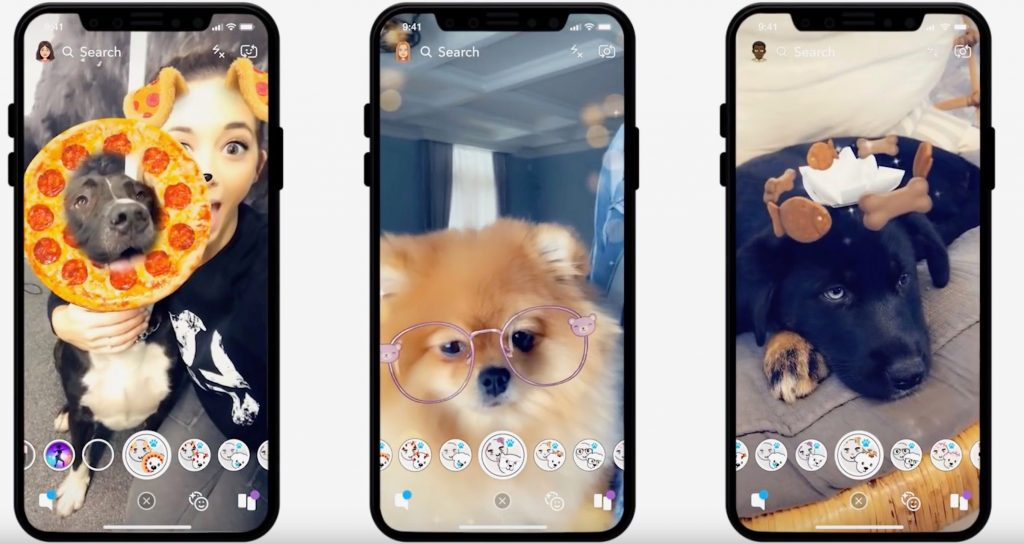 Snapchat กับการนำเลนส์ AR มาใช้ใน Viber
