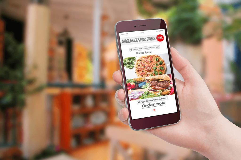 ประโยชน์เทคโนโลยี- สั่งอาหารออนไลน์