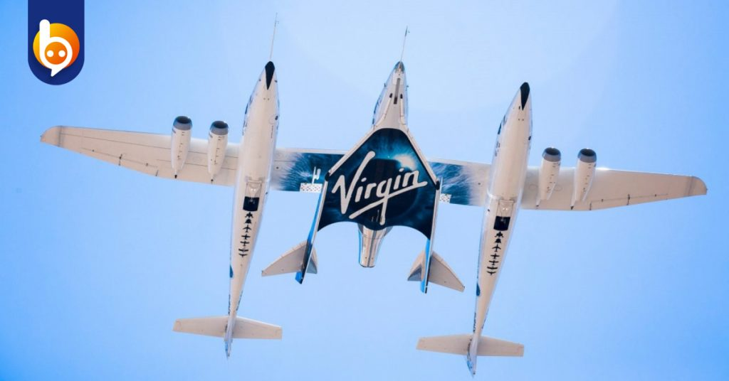 จรวดเที่ยวดาวอังคาร - การนั่งจรวดVSS UNITY ของบริษัท Virgin Galactic