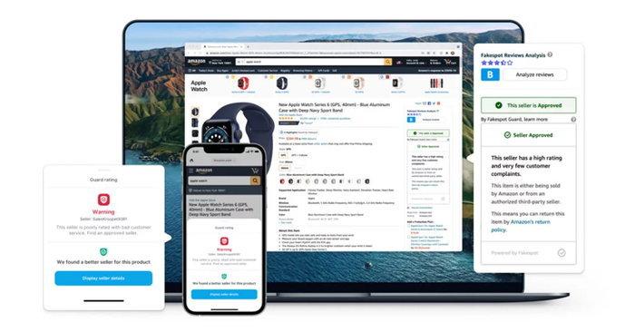 Fakespot Secure Shopping - ถูกลบจาก App Store